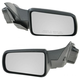 1AMRP00891-2008-11 Ford Focus Mirror Pair Gloss Black Cap