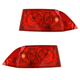 1ALTP00437-2004-05 Acura TSX Tail Light Pair