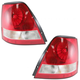 1ALTP00398-2003-06 Kia Sorento Tail Light Pair