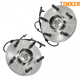 TKSHS00587-Wheel Bearing & Hub Assembly Front Pair Timken HA590035