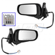 1AMRP01191-Mazda Protege Protege5 Mirror Pair Paint to Match
