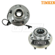 TKSHS00588-Wheel Bearing & Hub Assembly Front Pair