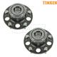 TKSHS00581-1997-01 Acura Integra Wheel Bearing & Hub Assembly Rear Pair  Timken 512255