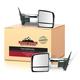 1AMRP01127-Toyota Sequoia Tundra Mirror Pair Chrome