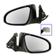 1AMRP01125-2012-13 Toyota Camry Camry Hybrid Mirror Pair Paint to Match