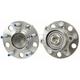 1ASHS00524-Wheel Bearing & Hub Assembly Rear Pair