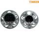 TKSHS00551-2008-13 Scion xD Wheel Bearing & Hub Assembly Rear Pair  Timken HA590365