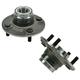1ASHS00519-1991-96 Infiniti G20 Wheel Bearing & Hub Assembly Rear Pair