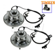 TKSHS00550-Dodge Journey Wheel Bearing & Hub Assembly Rear Pair