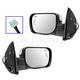 1AMRP01153-Mirror Pair Chrome Cap