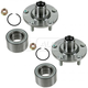 1ASHS00546-Wheel Bearing & Hub Assembly Front Pair