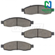 1ABPS00567-Brake Pads CERAMIC Front