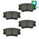 1ABPS00575-Brake Pads Rear