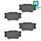 1ABPS00574-Brake Pads Rear