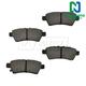 1ABPS00573-Nissan Pathfinder Xterra Brake Pads  Nakamoto CD1101