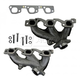 1AEEK00324-2007-11 Jeep Wrangler Exhaust Manifold Pair
