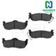 1ABPS00556-Brake Pads Rear Nakamoto MD1041
