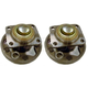 1ASHS00460-1986 Wheel Bearing & Hub Assembly Rear Pair