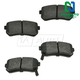 1ABPS00545-Brake Pads Rear  Nakamoto MD1398