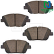 1ABPS00547-Brake Pads Front