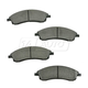 1ABPS00548-2004-09 Cadillac SRX Brake Pads Front