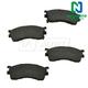 1ABPS00554-Mazda Protege Protege5 Brake Pads CERAMIC Front
