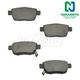 1ABPS00539-Acura TL Honda Ridgeline Brake Pads Rear  Nakamoto CD1103