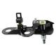 1ABMX00243-2003-08 Wiper Pivot & Glass Latch