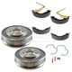 1ABDS00268-2005-08 Brake Shoe  Drum & Hardware Kit Rear
