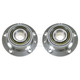1ASHS00496-BMW Wheel Bearing & Hub Assembly Front Pair