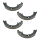 1ABPS00591-Toyota Camry Rav4 Solara Brake Shoes Rear