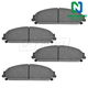 1ABPS00595-Brake Pads CERAMIC Front
