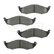1ABPS00598-1993-02 Mercury Villager Nissan Quest Brake Pads Front