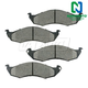 1ABPS00599-1993-02 Mercury Villager Nissan Quest Brake Pads Front