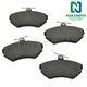 1ABPS00579-Volkswagen Brake Pads CERAMIC Front