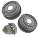 1ABDS00273-Brake Drum & Shoe Set Rear