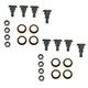 1ADRK00082-1993-02 Chevy Camaro Pontiac Firebird Door Hinge Pin & Bushing Kit (8 Pins  8 Bushings  & 8 Lock Nuts)  Dorman 38493