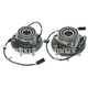 TKSHS00565-2003-05 Chevy Astro GMC Safari Wheel Bearing & Hub Assembly Front Pair Timken SP550310   SP550309