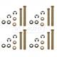 1ADRK00090-Dodge Door Hinge Pin & Bushing Kit (8 Pins  16 Bushings  & 8 Clips)