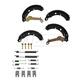 1ABDS00250-1999-01 Nissan Altima Brake Shoe & Hardware Kit Rear