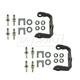 1ADRK00092-Door Hinge Pin  Bushing  & Bracket Repair Kit Pair  Dorman 38664