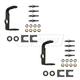 1ADRK00091-Door Hinge Pin  Bushing  & Bracket Repair Kit Pair Driver Side  Dorman 38663