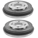 1ABDS00259-1990-02 Honda Accord Brake Drum Rear Pair  Nakamoto 3528