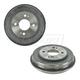 1ABDS00256-Honda Civic FIT Insight Brake Drum Rear Pair