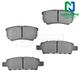 1ABPS00532-Brake Pads Rear  Nakamoto MD1037