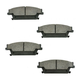 1ABPS00530-Cadillac CTS SRX STS Brake Pads Rear