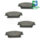 1ABPS00531-Cadillac CTS SRX STS Brake Pads Rear
