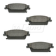 1ABPS00529-Cadillac SRX STS Brake Pads Rear