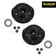 MNSFK00004-Strut Mount with Bearing Front Pair Monroe 905911