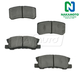 1ABPS00525-Brake Pads Rear